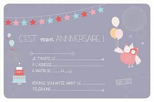 Invitation Anniversaire Fille 9 Ans : carte d 39 invitation anniversaire fille 10 ans imprimer ~ Melissatoandfro.com Idées de Décoration