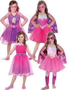 Childrens Halloween Books Uk by Girls Barbie Princess Costume Pink Superhero Spy Halloween