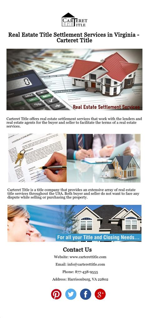 With 24 locations, 25 years of experience, and 7,749 insured clients and counting, rely on just insurance for the best insurance advice in florida. Carteret Title offers real estate settlement services that work with the lenders and real estate ...