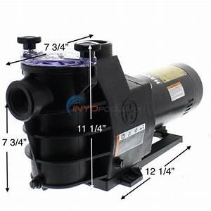 Hayward Max-flo Pump 1 Hp Single Speed Pump