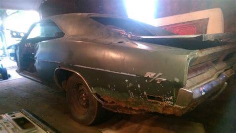 mopar real 1969 dodge charger rt r t project car 69 vin xs 29 l
