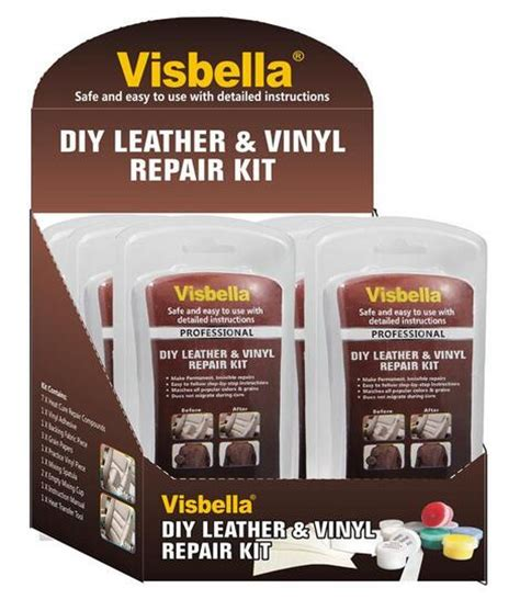Vinyl Upholstery Repair by Leather Vinyl Repair Kit Fix Car Boat Seat Rips Burns