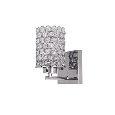Home Depot Wall Light Sconce by Alsy 1 Light Chrome Wall Sconce 20533 001 The Home Depot