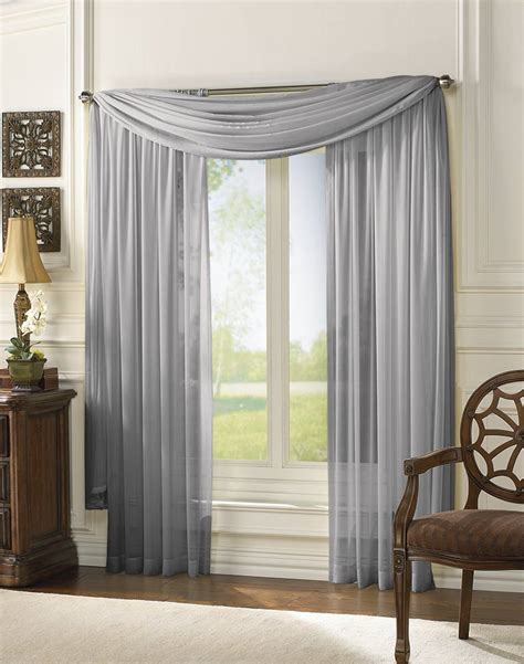 Sheer Curtain Panels by Delray Soft Sheer Lightweight Tailored Curtain Panel