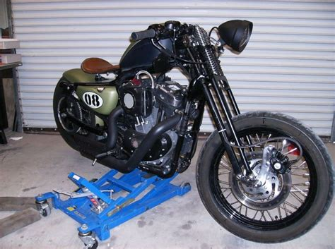 Davidson Front End by 48 With A Springer Front End Misc Vehicles Harley