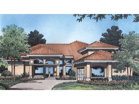 San Marcos Adobe Home Plan 047d-0158