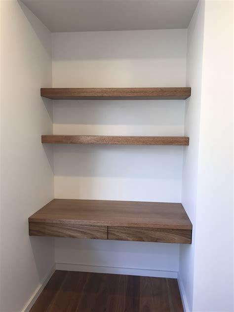 Hardwood Wall Shelves by Australian Made Tassie Oak Hardwood Timber Wall Mounted