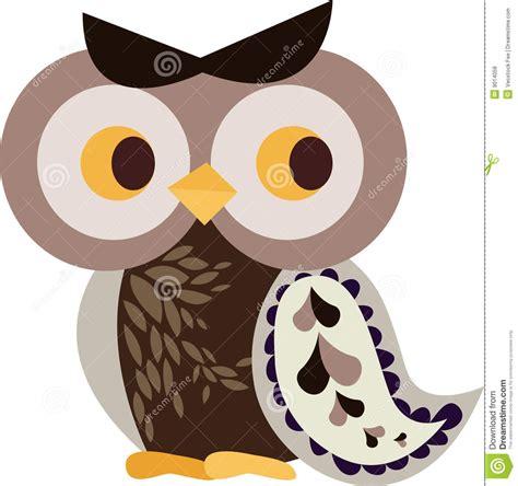 owl character stock illustration image of flight perch