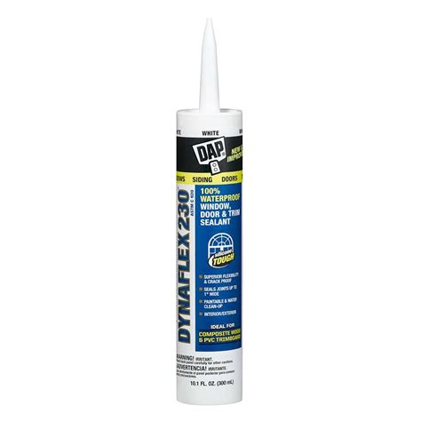 dap dynaflex 230 10 1 oz premium indoor outdoor sealant