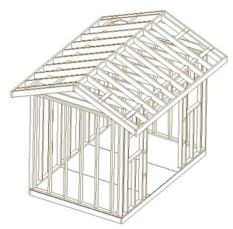 8 x 10 slant roof shed plans shedlast 10 x 12 gambrel shed plans missouri state