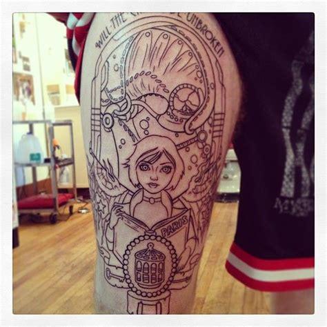 foto de Will the circle be unbroken Bioshock tattoos today