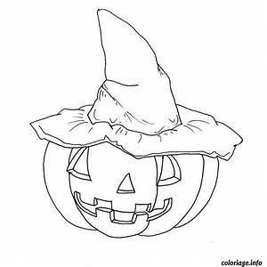 Citrouille Halloween Dessin : coloriage citrouille d halloween ~ Melissatoandfro.com Idées de Décoration