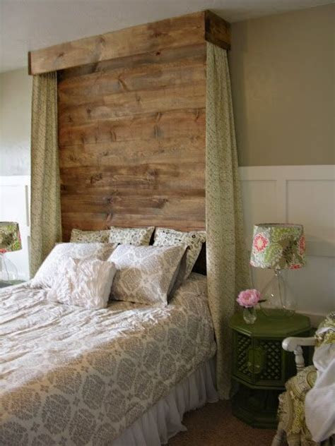 diy headboard tutorialcould   white wash finish