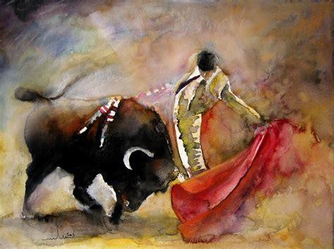 La Corrida en Peinture - Tableaux de tauromachie par Miki ...