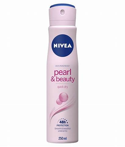 Nivea Deodorant Pearl Beauty Spray Underarms Antiperspirant