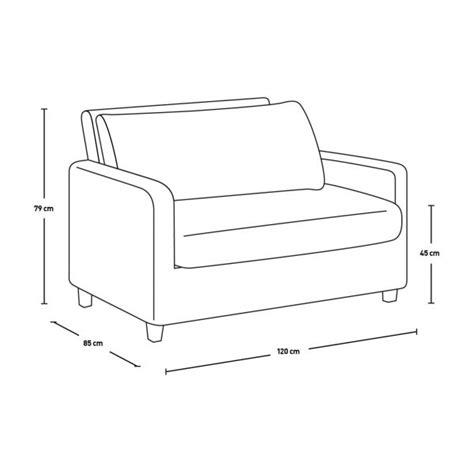 canapé compact chester canapé compact en cuir marron habitat