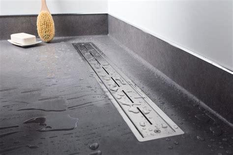 vinyl pour salle de bain easy drain vinyl caniveaux de