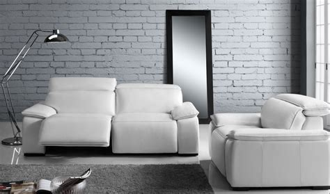 white leather reclining sofa find the best recliner sofas in san francisco at mscape