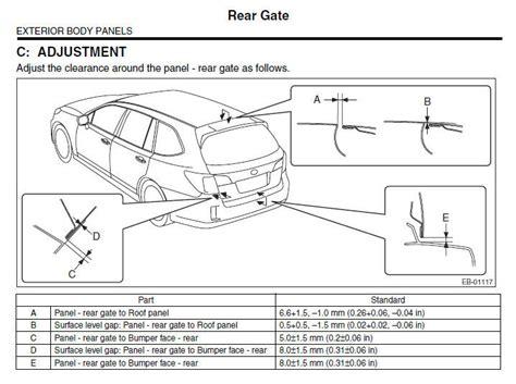 Subaru Outback Factory Service Repair Workshop Fsm