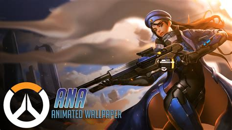 Overwatch Wallpaper Animated - animated wallpaper overwatch by cjxander on deviantart