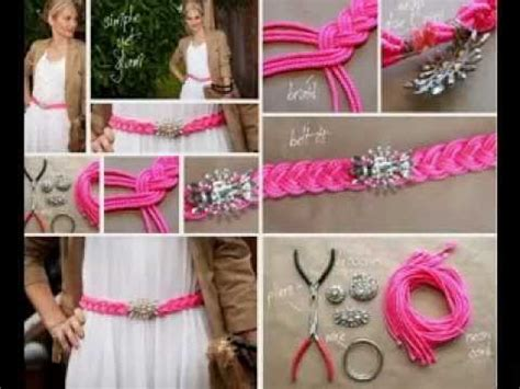 Easy Diy Fashion Projects Ideas Youtube