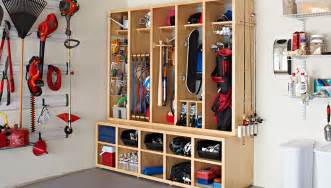 Lowes Entryway Bench by How To Build Garage Storage System Complete Woodworking