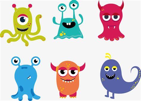 Cartoon Monster, Cartoon, Little Monster, Vector Png And