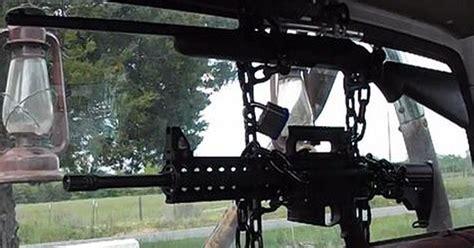 window gun rack 15 craziest gun racks on the