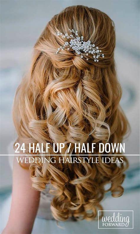 42 half up half down wedding hairstyles ideas gothic