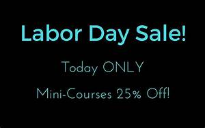 Today Only! These Mini-Courses Are 25% Off ...