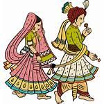 Indian Clipart Sangeet Marriage Hindu Couple Dulhan