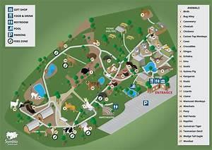 Symbio Wildlife Park Map - Adam Priest Portfolio