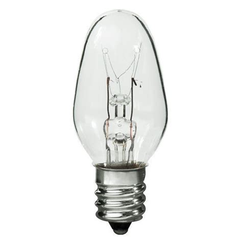 4 watt c7 light bulb candelabra plt c22 4w c