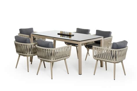 renava zoe modern outdoor dining set