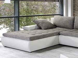 Couch L Form Grau : wohnlandschaft cayenne 389x212 162cm wei schwarz sofa ecksofa polsterecke couch ebay ~ Indierocktalk.com Haus und Dekorationen