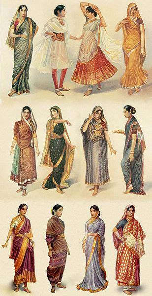 Different Drapes Of Saree - saree sari india different styles of draping a sari saree