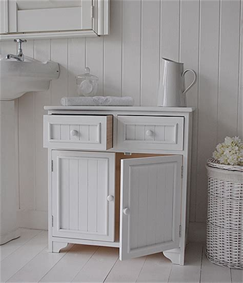 Cupboard For Bathroom by Maine Bathroom Cabinet With 2 Cupboards And Drawers For