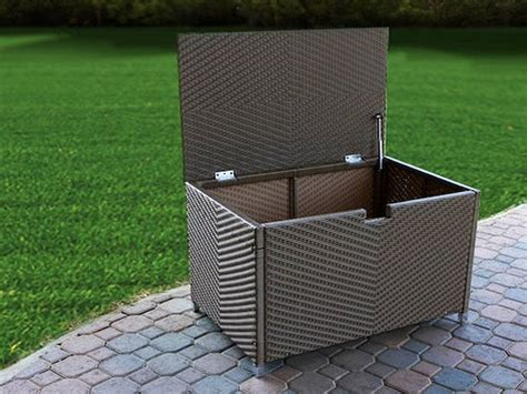 suncast large deck box 134 gallon product review suncast premium 134 gallons large