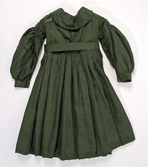coat date ca 1839 culture american medium silk 1830 1840 victorian children s clothing
