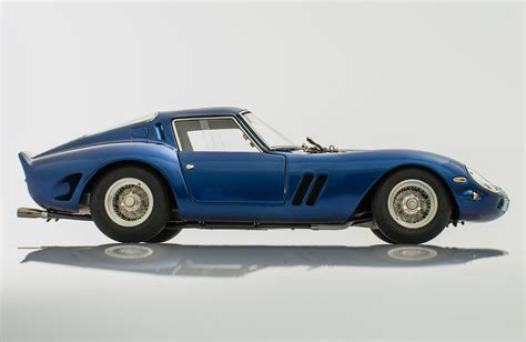 cars ferrari blue ferrari 250 gto blue 1962 by cmc model cars racing heroes