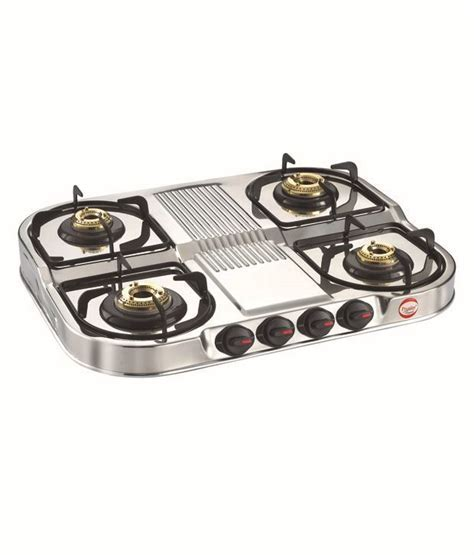 Prestige Royale DGS 04 Stainless Steel Gas Stoves Price in