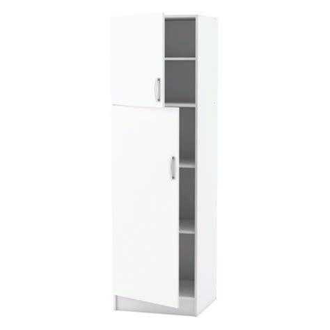 meuble colonne cuisine meuble de cuisine blanc colonne 2 portes dya shopping fr