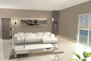 Photo Peinture Salon : deco maison peinture salon ~ Melissatoandfro.com Idées de Décoration