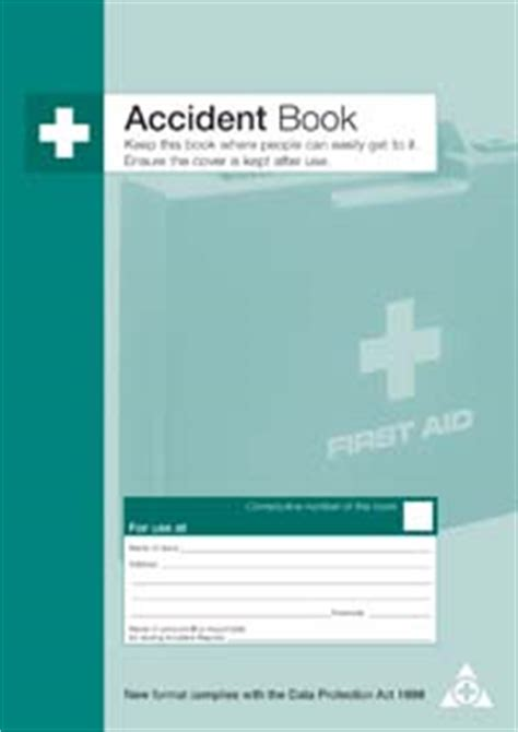 accident book    high quality pages