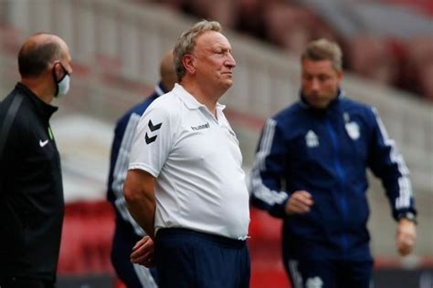 Neil Warnock confirms a Middlesbrough player is self ...