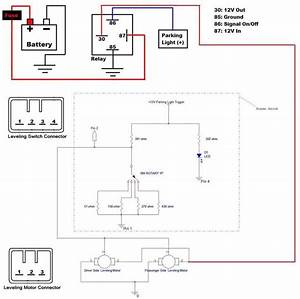 Inspire Headlight Leveling Motor Wiring
