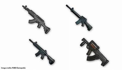 Pubg Mobile Assault Rifles Guns Ranked Powerful