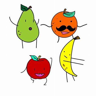 Fruit Giphy Cartoon Sticker Gambar Dancing Bergerak