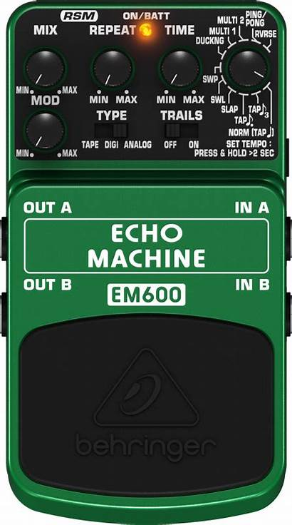 Echo Behringer Pedal Effects Guitar Modeling Mcquade