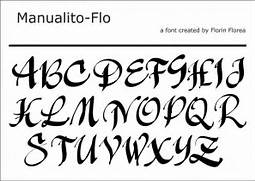 Type Of Letters Writing Gallery For Letter Styles Fonts